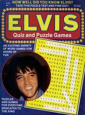 ELVIS PRESLEY QUIZ AND PUZZLE GAMES