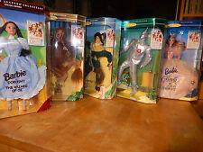 MATTEL Zauberer/ Wizard of Oz 5 Figuren Collector Edition / Barbie as Dorothy