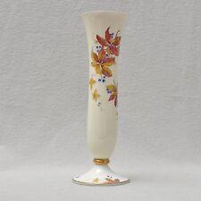 Rosenthal schlanke Art Deco Vase mit traumhafter Bemalung - wilder Wein, 29,5 cm