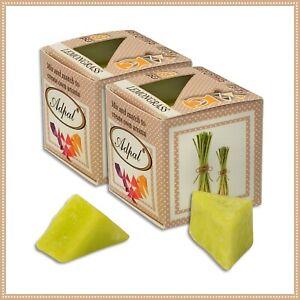2 x  Duftwachs Zitronengras | Aroma Duftkerze Schmelzwachs Wax Aromatic