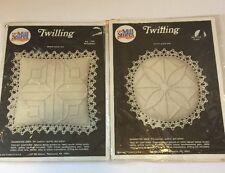 Prism  Reflections 2 Twilling Kits Stitchery Craft Needlepoint Fabric Printed
