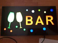 TOP QUALITY RESIN LED BAR SHOP SIGN DISPLAY WINDOW LIGHT
