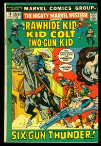 MIGHTY MARVEL WESTERN #18    LOW GRADE