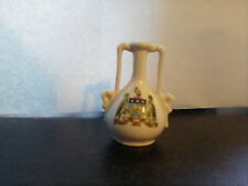 GEMMA China Decorative Small Vase Ornament with Leeds Crest. PreOwned.