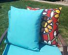 FAST SHIPPING Sunbrella Canvas Aruba Outdoor Pillow Cover with Zipper
