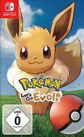 Nintendo Switch - Pokémon: Let's Go - Evoli! NEU & OVP