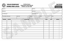 250 Custom Invoice / Sales Receipt / Carbonless Form