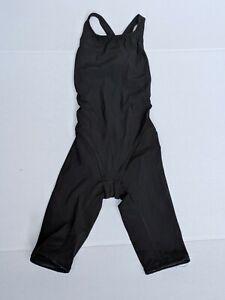 Arena Powerskin Carbon Pro Black Swim Suit 006231 FINA Girls Womens Size 24