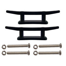 """2 X 3"""" Kayak Boat Canoe Mooring Deck Mount Anchor Cleat with screws and nuts"""