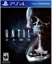 PS4 UNTIL DAWN NEW FACTORY SEALED FREE SHIPPING