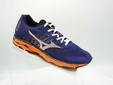 Mizuno Wave Inspire 11 Sz 8 M purple Orange Synthetic Training Running Men Shoes