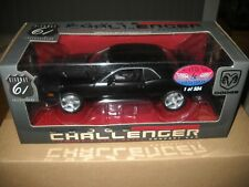 HIGHWAY 61-DODGE CHALLENGER CONCEPT CAR HEMI 6.1 1/18 SKU # 50598-BLACK 1 OF 504