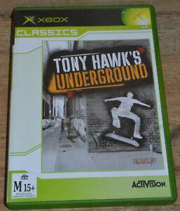 Tony Hawk's Underground (Xbox , 2004) - Complete in Case