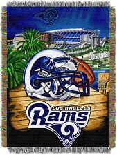 Los Angeles Rams Home Field Advantage Woven Tapestry Throw
