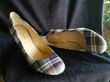 """Kelly&Katie Isabel Shoes pump 4"""" heel Size 10 Black, Red and White never worn"""
