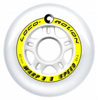 4 Stk Loco-Motion 'Warp 1.1' 80mm 84A Inline Skate Rolle wheel