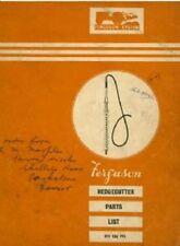 Ferguson Hedgecutter Parts Manual - Same as Marples
