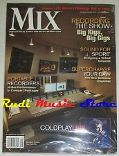 MIX Magazine SEALED Sett 2008 Coldplay Big Rigs Big Gigs Weezer SSL Matrix NO cd