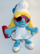 "2013 NEW THE SMURFS 2 Movie 8"" SMURFETTE blue plush bean bag Toy girl Doll JAKKS"