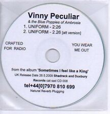 (281L) Vinny Peculiar, Uniform - DJ CD