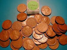 """1929-S LINCOLN WHEAT CENT PENNY ROLL HIGH GRADE, all coins """"FINE"""""""