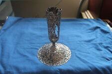 833 Silver Repouse Dutch Vase Hallmarked Circa 1916