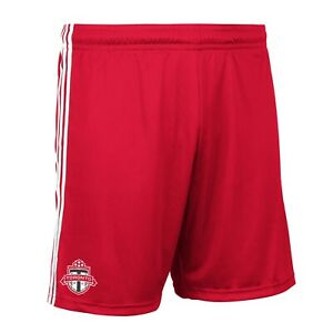 Toronto FC MLS Adidas Men's Team Logo Red Climalite Performance Replica Shorts