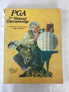 PGA 57th National Championship Program-Good Condition
