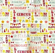 Blend Calliope Circus Tents Grey 100/% Cotton FQ Half or Meter Sew Quilt FREEPOST