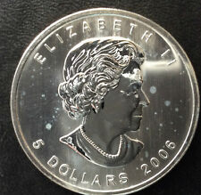 2006 Canada Maple Leaf 5 Dollars Silver Canadian Coin A3564