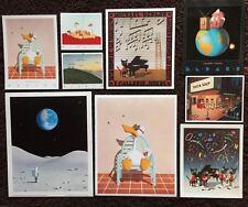 """Sitting Duck"" BEDARD BONANZA~9 Rare Mini-Prints~Orig.70s-80s~Vintage Collection"