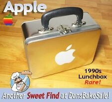 Apple Computer Lunchbox From Apple Company Store 1990's - Excellent - Very Rare!