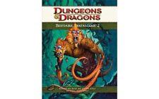 JdR Dungeons&Dragons 4 Bestiaire Fantastique 2 Proche Neuf