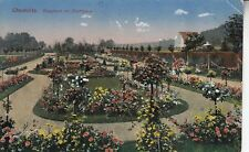 Postkarte - Chemnitz / Rosarium im Stadtpark