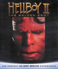 Hellboy II: The Golden Army ~ Ron Perlman Selma Blair New Factory Sealed Blu-ray