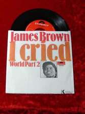 Single James Brown: I Cried - World Part 2 (Polydor) D