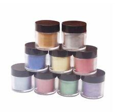 9 x Effektpigmente Perleffekt Metalliceffekt Farbpigment Epoxidharz Nailart 2