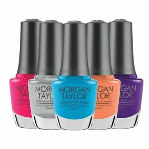 Harmony Morgan Taylor Lacquer - Color Nail Polish 0.5oz **Pick Your Colors**