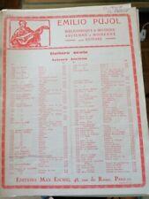 Lotto 14 spartiti musica antica per Chitarra-Elenco autori nella descrizione