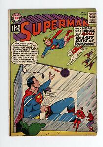 SUPERMAN #156 VG/FN 4.5 - BATMAN, SUPERGIRL, Legion of Superheroes - KRYPTO