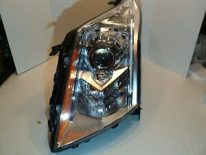 Cadillac SRX left side HID articulated head lamp fits 2010 to 2015