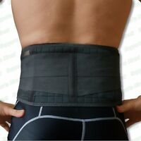 Magnetic Back Support -20 Pain Relief Magnets- Lower Lumbar Brace Belt Strap