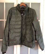 Mens Canada Goose Lodge Down Jacket - Large - Slate - Large