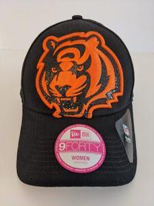 New NFL Cincinnati Bengals New Era 9Forty Glitter Glam Women's Adjustable Hat