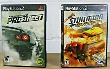 PS2 Stuntman Ignition and Need for Speed Pro Street Complete Fully Tested! G8