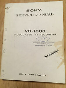 Sony Tv Video Home Audio Manual Resources For Vcr For Sale In Stock Ebay