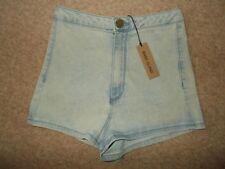 River Island Denim High Regular Size Shorts for Women