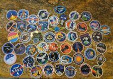49 NASA Mission Badge Vinyl Stickers Space Shuttle Apollo SET B