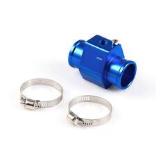 BLUE Water Temp Sensor Temperature Joint Pipe Gauge Radiator Hose Adapter 32MM