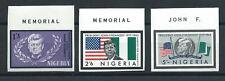 Nigeria N°155/57** (MNH) N. Dentelés 1964 - Mort du président Kennedy